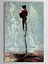 Hand Painted Oil Painting Abstract Stem with Stretched Frame 1310-AB1152