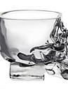 mini-crane de cristal tete tasse de vodka verre tir verre de whisky logiciel pour la barre de la maison