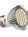 5W E26/E27 Spot LED 16 SMD 5730 420-450 lm Blanc Chaud AC 100-240 V