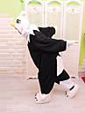 kigurumi Pyjamas Eagle Collant/Combinaison Fete / Celebration Pyjamas Animale Halloween Blanc / Noir Mosaique Polaire Kigurumi Pour