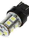 7443 T20 13 5050 SMD LED Bil Tail Brake Stop Turn glödlampa Lampa Vit