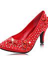 Women\'s Wedding Shoes Heels Heels Wedding Red/Silver