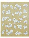 1PCS Rose Pattern bröllop Nail Art Sticker