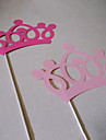 Wedding Décor Crown Photo Booth Props for /Party (2 Pieces)