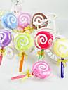 Lollipop Shaped Towel - Set of 6 (Random Color)