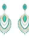Dame Cercei Picătură bijuterii de lux costum de bijuterii Reșină Diamante Artificiale Aliaj Bijuterii Pentru Nuntă Petrecere Zilnic
