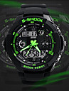 Men's Watch Sport Watch Japanese Quartz Analog-Digital Watch Dual Time Zones Chronograph Calendar LCD Cool Watch Unique Watch