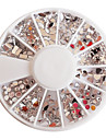 Mixte modele Acrylique meule diamant Nail Art Decorations