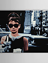 Stretched Canvas Art Pop Art People Audrey Hepburn of Breakfast at Tiffany\'s Ready to Hang