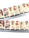 28st Full-tip Flower Nail Art Stickers Dekaler