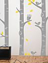 식물 자작 나무 벽 전사 술 벽 스티커