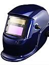Blue Li Batteri Solar Auto svetsglas Hjälm