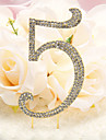 Birthday Party Tableware Cake Accessories Classic Theme Non-personalised Gold/Silver