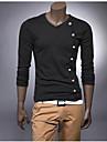 Men\'s V Neck Long Sleeve T-Shirt