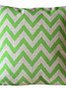 Ever Green vague Stripe coussin decoratif avec Insert