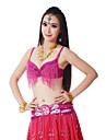 Dancewear Women\'s Sequin Tassels Polyester Belly Dance Bra(More Colors)