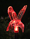 Solar Color-Byte Hummingbird Garden Stake Light (CSS-57326)