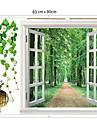 1st färgstarka avtagbar landskapet utanför fönstret väggen klistermärke