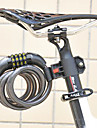 FJQXZ Cycling ABS Engineer Plastic Anti-theft Black Coded Lock