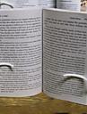 portables 14,5 * 12 * 4 signets mignons de silicone& clips (rose, blanc, 1pc)
