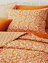 huani® täcke set, 3-delat 100% bomull lantlig stil aprikos arabesk