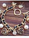 Coracao da perola pulseiras joias
