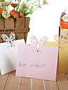 """Place Cards and Holders """"Toasting Flutes"""" Laser Cut Place Card - Set of 12 (More Colors)"""