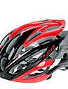 FJQXZ Ultralight 26 Vents PC+EPS Red Cycling Helmet