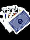 Cadeau personnalise Bleu motif de verification des cartes de jeu pour Poker