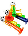 2014 VM Tre Tube fans hejar Plast Trumpet (Random färg)