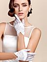 Wrist Length Fingertips Glove Satin Bridal Gloves/Party/ Evening Gloves