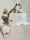 Vägglampa, 1 ljus, Classic Metall Glas Målning