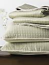 huani® täcke set, 3 st pläd ljusgrön polyester