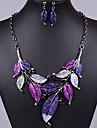 J & S Vintage feuilles __gVirt_NP_NN_NNPS<__ ensemble de bijoux en forme