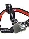 Pannlampor LED 160 Lumen Läge Cree Q5 10440 / AAA Vattentät Camping/Vandring/Grottkrypning Plast