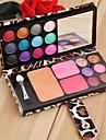 12 Farben Lidschatten-Palette professionellen Make-up-Set Cosmetic Rouge-Puder-Palette SV003816