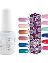 YeManNvYou®1PCS Sequins UV Color Gel Nail Polish No.265-276 Soak-off(15ml,Assorted Colors)