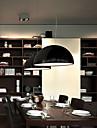 Lampe suspendue ,  Contemporain Saladier Peintures Fonctionnalite for Style mini MetalSalle de sejour Chambre a coucher Salle a manger