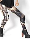 PinkQueen ® Spandex Grigio Athena guerra ghette delle donne