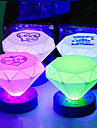 LED cone Forme colore ABS Night Light (couleur aleatoire)