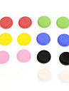 16pcs Colorful bouchon en silicone antiderapant PS4 controleur