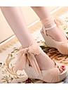 Zikafo Nouveau modele coreen d\'ete Femmes Slipsole Peep-Toe chaussures sandales de plate-forme avec ruban de soie bowknot