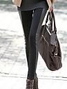 moda feminina europeu super sexy legging emendados skinny slim