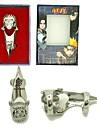 Smycken Inspirerad av Naruto Cosplay Animé Cosplay Accessoarer Ring Silver Legering Man