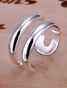 r&d anneau ouvert argente