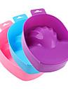 1PCS NY Style Nail Art Hand Ta Wash Soak Bowl Behandling Manikyr Tool (Random färg)