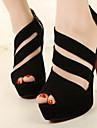 sapatos femininos tres tira sapatos stiletto linha superior sandalias pio calcanhar do pe