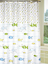 Modern Polyester  -  Hög kvalitet Duschdraperi