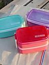 prickiga japansk stil godis färg lådor matlåda dubbla lager (slumpvis färg)