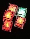 Coway La luce variopinta Ice KTV Bar Atmosfera Props LED Night Light Lungo luminescenza